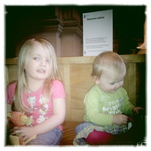 H and M at Kelvingrove