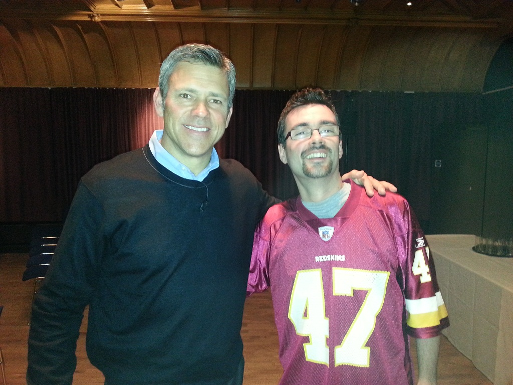 Mark Brunell and me