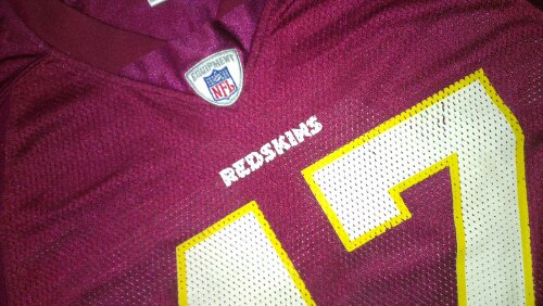 Chris Cooley Redskins jersey