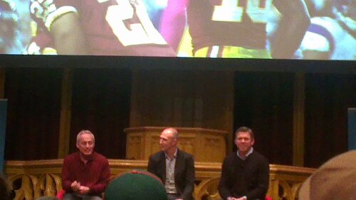 Jeff Reinebold, Neil Reynolds and Mark Brunell 7-Jan-2013