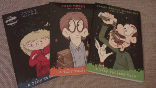 Tiny Twisted Tales - Jenny, Pale Henry and Stuart the Bug Eating Man