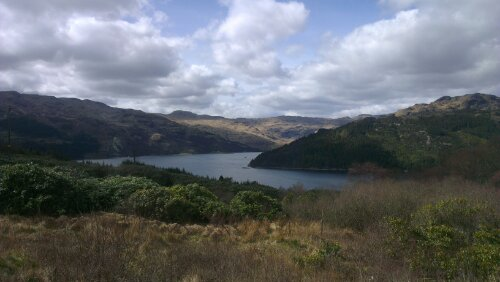 Hills and a loch