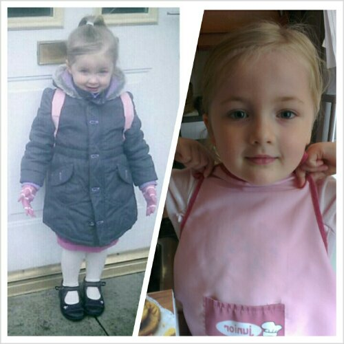 Heather's first day of nursery, and last week